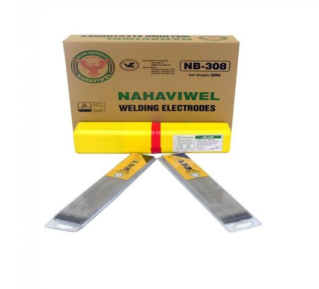 Que hàn inox 308 được sử dụng để hàn cho thép austenitic không gỉ
