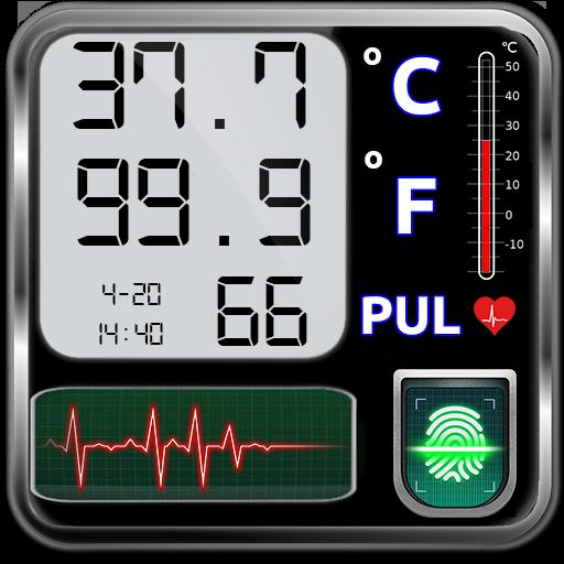 Icon for Body Temperature Checker Diary : Info History Log