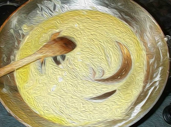 Add 2 tablespoons of the butter, and the flour into a small saucepan, and...