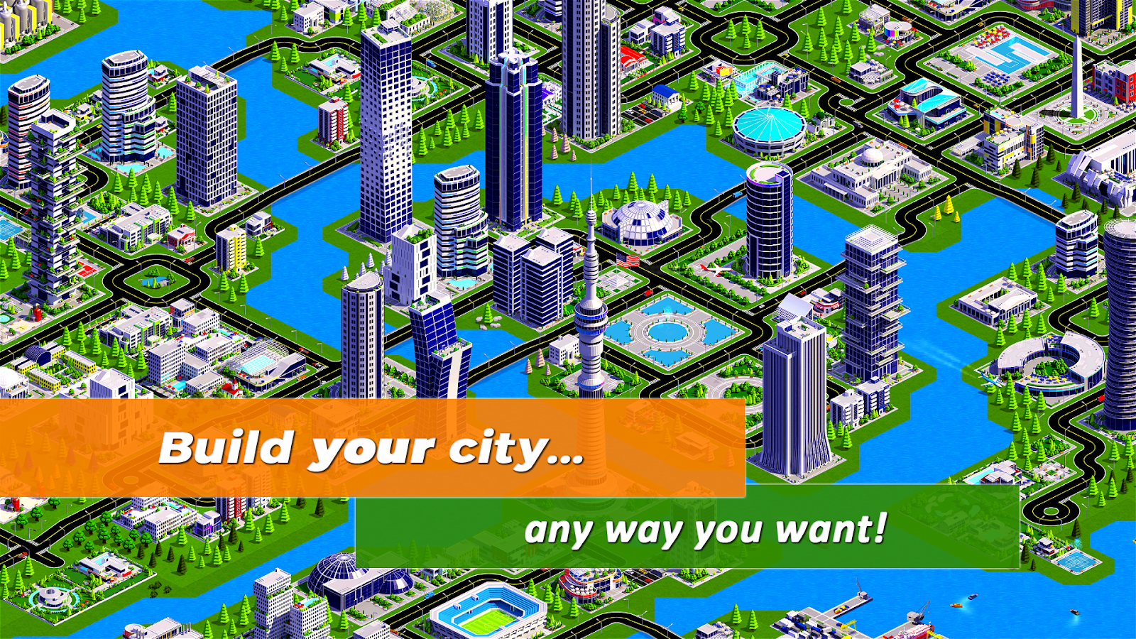 Designer City 2: city building game (Unreleased)- screenshot