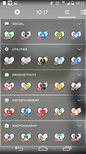 Hearts3 - Icon Pack