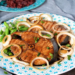 Fish Steak And Sauce Recipes.