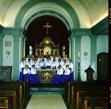 Photo: Næstved Koret i Vor Frue Kirke, Næstved 1990