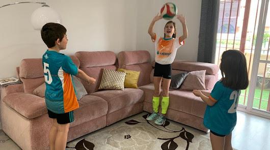 Las escuelas deportivas municipales trasladan su actividad física a casa