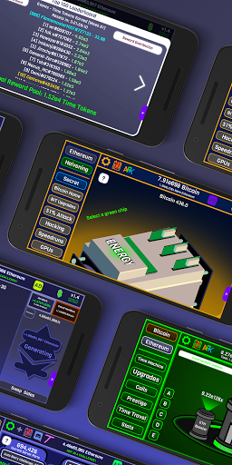 CryptoClickers: Crypto Idle Game 1.4 screenshots 2
