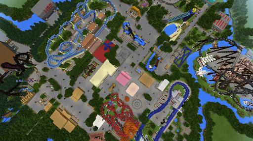 Amusement Park maps for Minecraft PE 2.3.29 screenshots 7