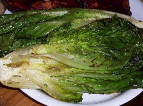Grilled Romaine Lettuce Recipe