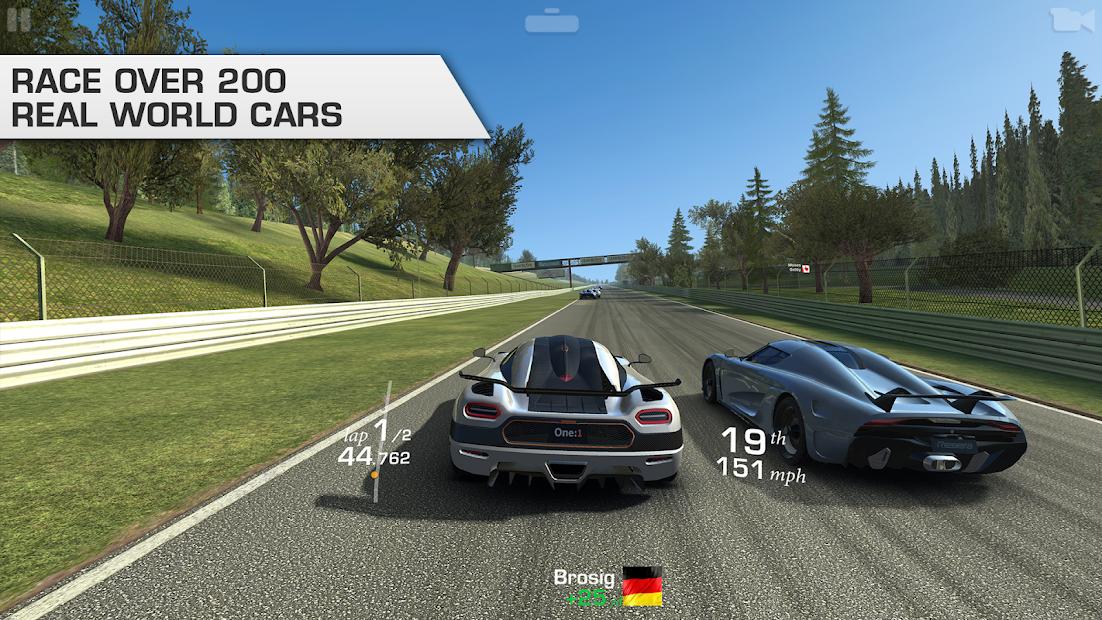 Real Racing  3 Android App Screenshot