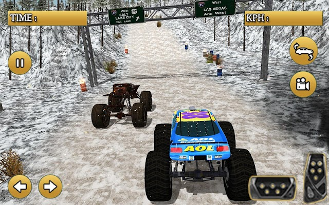 Monster Truck Snow Racing 17 - screenshot