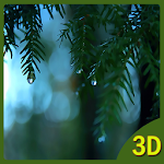 Rain Falling 3D Live Wallpaper Icon