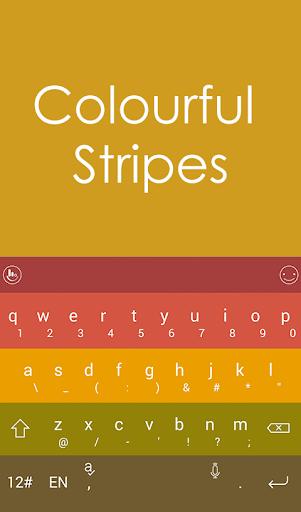 Rainbow Color Keyboard Theme