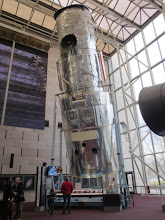 Photo: 1 / 20th scale model of the Hubble Space Telescope!   Yeah, the real thing is 20 times bigger, wow...