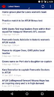 Women's FootyNews - náhled