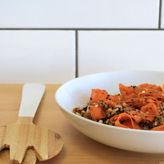 Spiced Quinoa & Carrot Salad (Recipe)