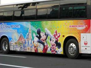 Photo: ディズニーバス