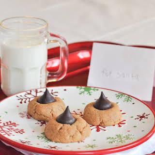 Flourless Peanut Butter Kiss Cookies ( Gluten-Free).