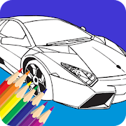 Cars Motorcycle Coloring Pages APK