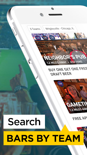 Rabble: Find Sports Bars, Restaurants & Live Games  screenshots 2