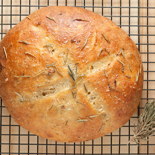 Rustic Rosemary Garlic Bread Recipe