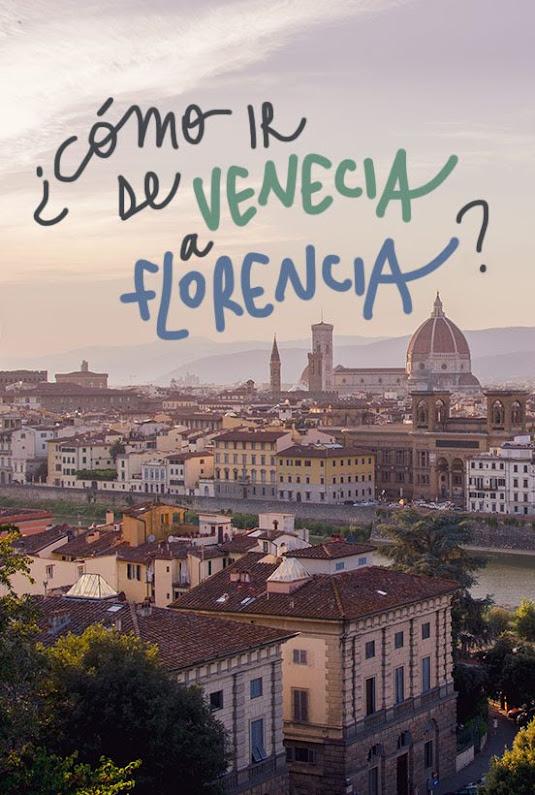 como ir de florencia a venecia