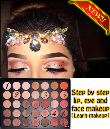 step by step make up (learn make up) 1.0.1 screenshots 2