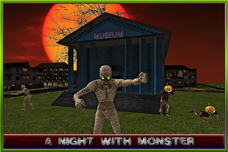 Halloween Zombies Shooter 3D screenshot