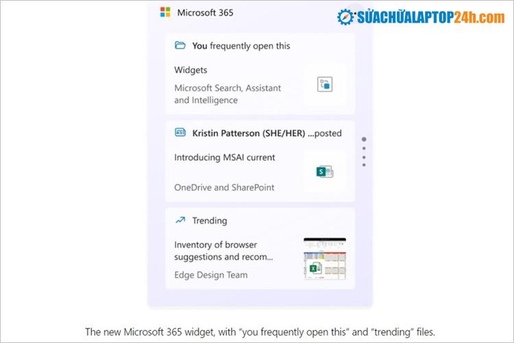 Tiện ích Microsoft 365
