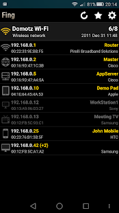 Fing - Network Tools Screenshot 1