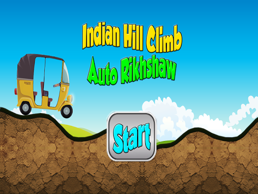 Indian Hill Climb AutoRickshaw