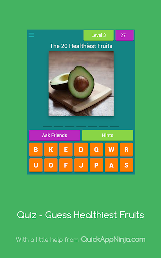 Quiz - Guess Healthiest Fruits  screenshots 10