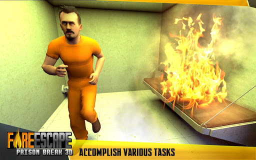 Fire Escape Prison Break 3D  captures d'u00e9cran 7