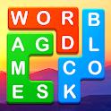 Word Blocks Puzzle - Free Offline Word Games icon
