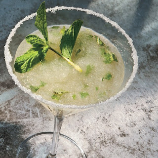 Blended Golden Mojito