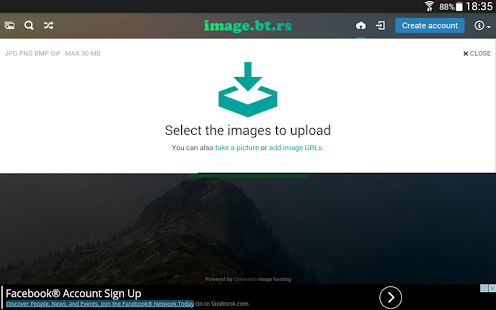 Free Unlimited Image Hosting- screenshot thumbnail