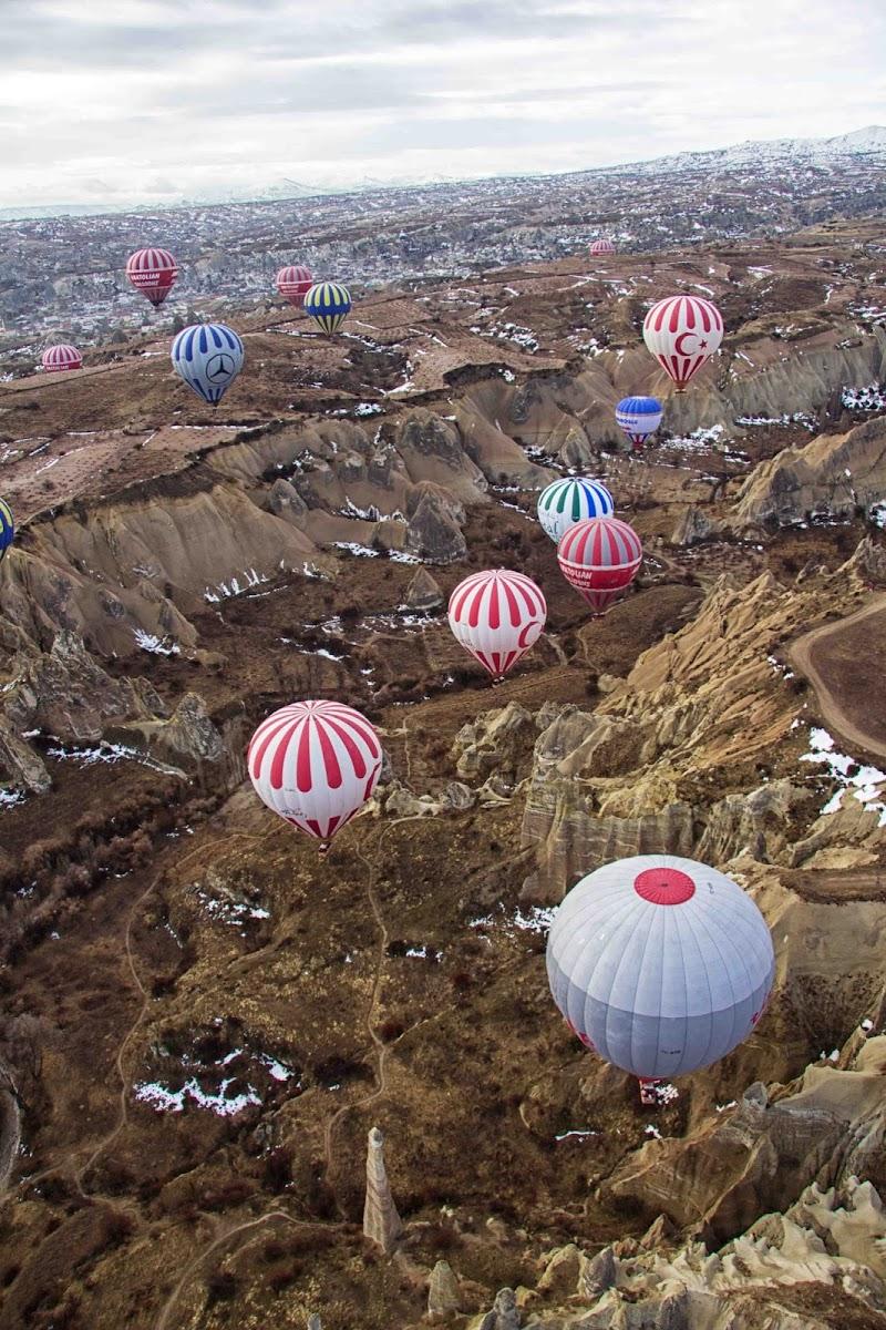 sorvolando la cappadocia di antonioromei