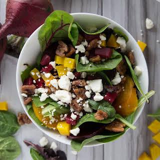 Healthy Beet & Feta Salad.