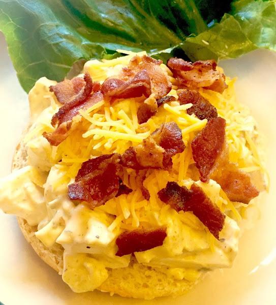 Superb Bacon Cheddar Egg Salad Recipe