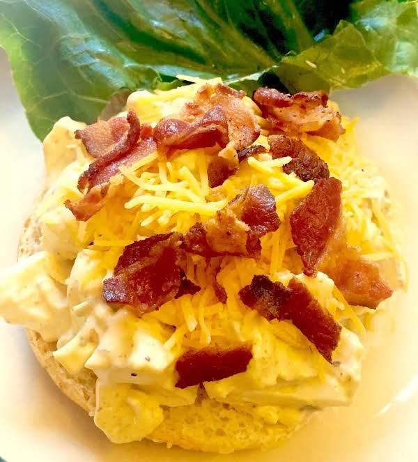 Superb Bacon Cheddar Egg Salad