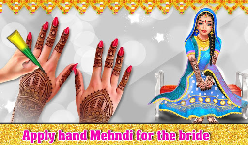 Indian Wedding Part1 - Love Marriage Beauty Salon android2mod screenshots 15