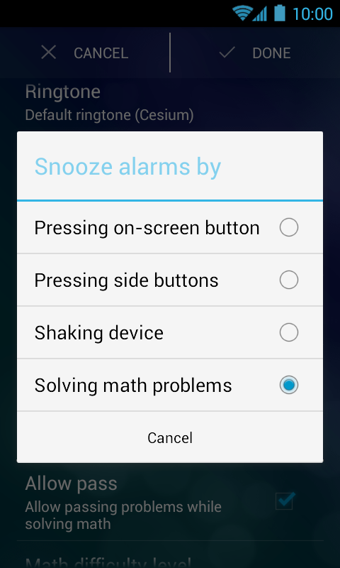 Alarm Clock Xtreme & Timer Screenshot 4
