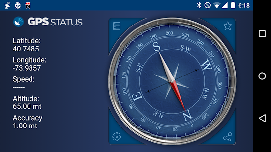 GPS Status- screenshot thumbnail