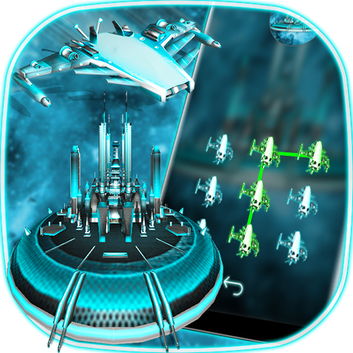 3D Tech Spaceship - lock screen themes Icon