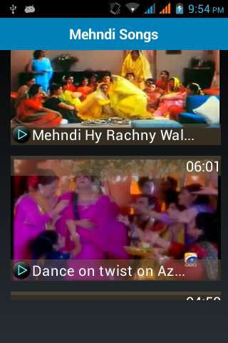 Latest Mehndi & Wedding Songs- screenshot