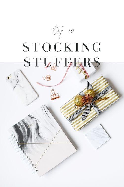 Stocking Stuffers - Christmas Template