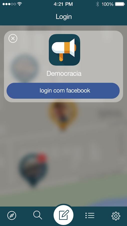 Democracia- screenshot