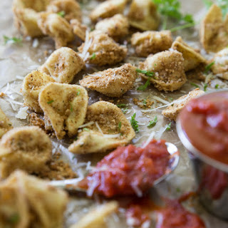 Baked Italian Tortellini.