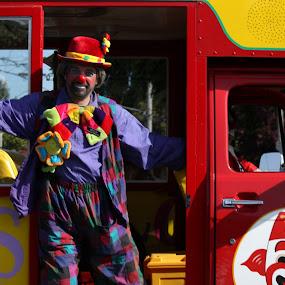 by Darrin McNett - People Street & Candids ( clown,  )