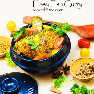Oven Cooked Fish Curry