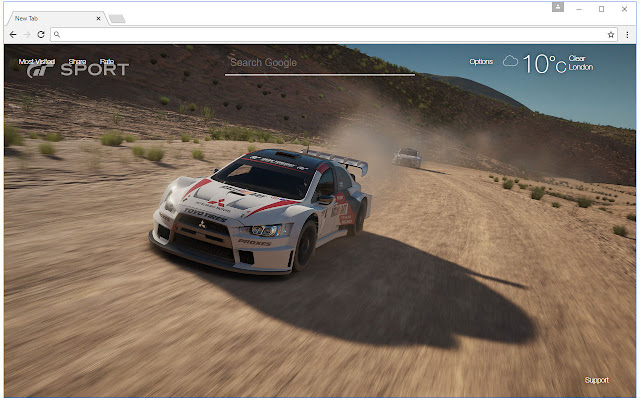 Gran Turismo Sport Wallpaper HD New Tab