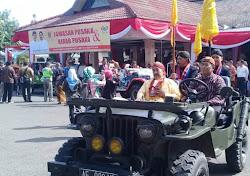 Upacara sakral jamasan pusaka Kabupaten Ngawi
